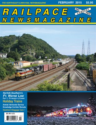 February 2015 Railpace Newsmagazine