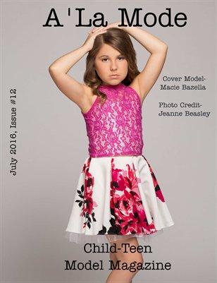 Issue #12 A'La Mode Child-Teen Model Magazine