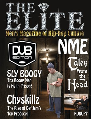 THE ELITE Men's Magazine of Hip-hop Culture Issue #3