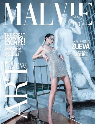 MALVIE Magazine The Artist Edition Vol 193 April 2021