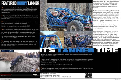 Bobby Tanner Pages 3 & 4 Poster