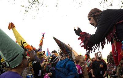 Courir de Mardi Gras Savoy La 2013