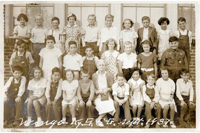 1937 Wingo 5th Grade Class, Graves County, Kentucky
