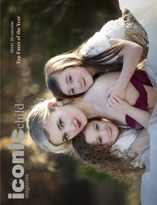 iconic child magazine Top Faces of the Year 2019/20 Calendar