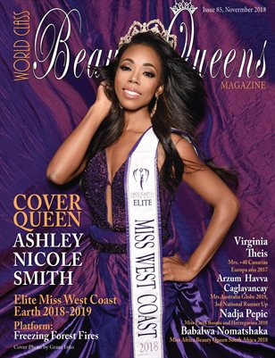 World Class Beauty Queens Magazine Issue 85 with Ashley Nicole Smith