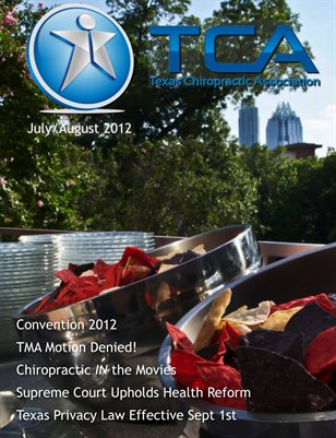 Texas Journal of Chiropractic Jul/Aug 2012