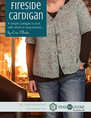 Fireside Cardigan Knitting Pattern