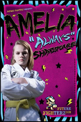 Amelia Shakespeare Zebra
