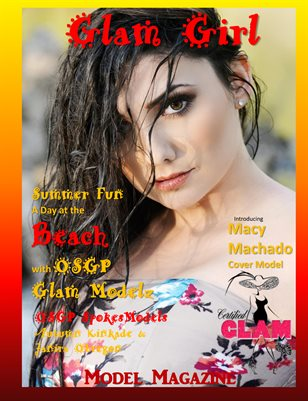 Ooh Soo Glamorous Model Magazine Glam Girlz Edition Two