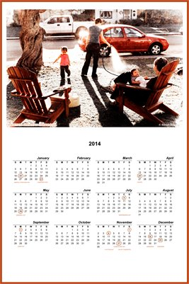 The Gay Families Project's 2014 Calendar #1 (50% OFF)
