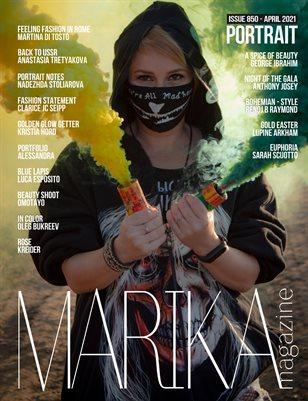 MARIKA MAGAZINE PORTRAIT (ISSUE 850- APRIL)