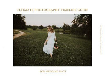 ULTIMATE TIMELINE GUIDE FOR BRIDES