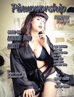 Pinupworship Magazine Kristy Cover