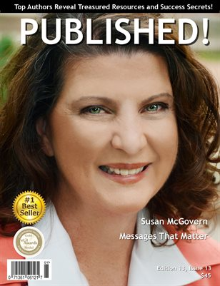 PUBLISHED! Magazine featuring Susan McGovern