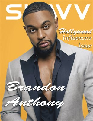 SUAVV Magazine Hollywood Influencers Issue Brandon Anthony Cover
