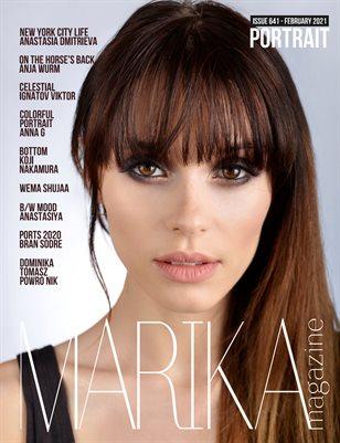 MARIKA MAGAZINE PORTRAIT (ISSUE 641 - February)