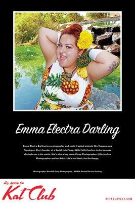 Emma Electra Darling Poster