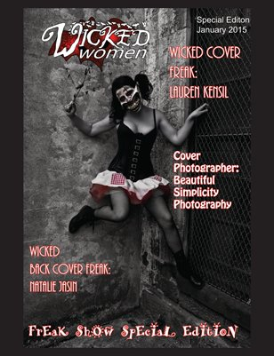 WICKED Women Magazine- Freak Show Special Edition #1: January 2015