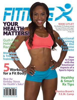 FitnessX Magazine for November 2012