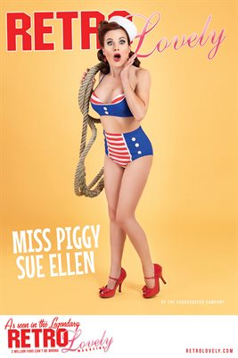 Miss Piggy Sue Ellen Poster