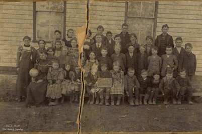 WHITE HOLLOW SCHOOL, BOUNDS, WAYNE COUNTY, MISSOURI