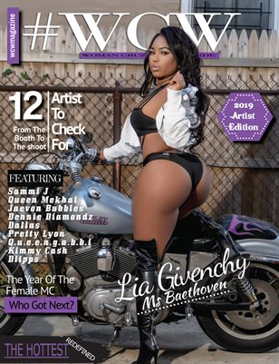 WCW Magazine Artist Edition Vol 1 Lia Givenchy