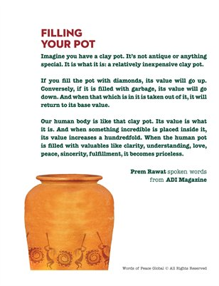 Filling Your Pot