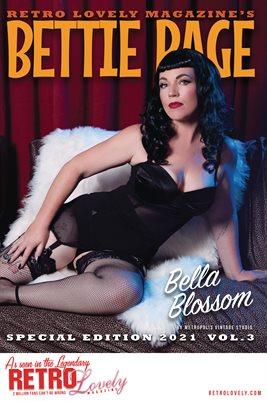 Bettie Page 2021 VOL.3 - Bella Blossom Cover Poster