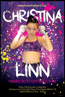 "Christina Linn ""Boys Cry"" - Poster"