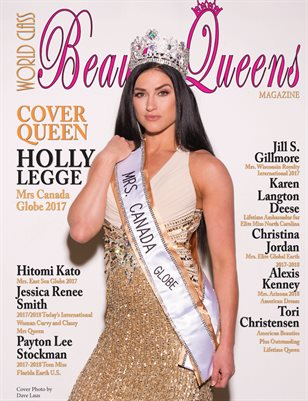 World Class Beauty Queens Magazine Issue 54 Holly Legge