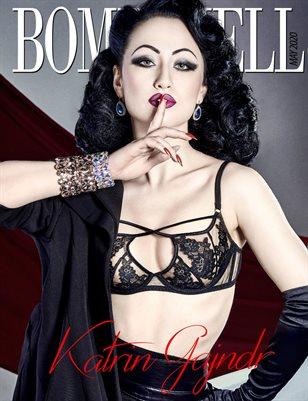 BOMBSHELL Magazine May 2020 - Katrin Gajndr Cover