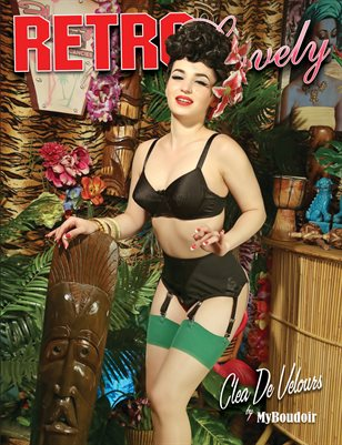 Retro Lovely No. 13 Clea De Velours Cover