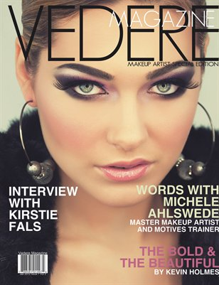 Vedere Magazine Makeup Artist Special Edition Jan 2013 Issue 5 Vol 2