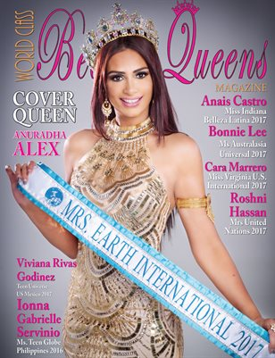 World Class Beauty Queens Magazine with Anu Alex