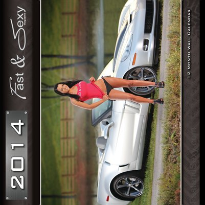 2014 Fast & Sexy Calendar PG