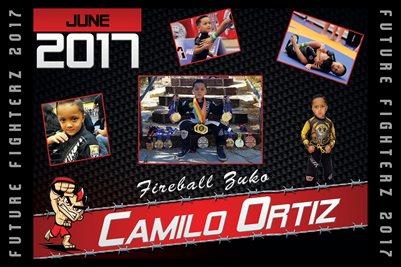 Camilo Ortiz Cal Poster 2017