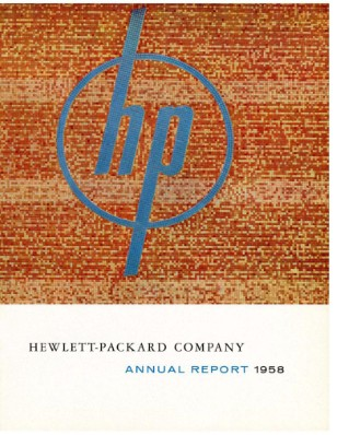 HP Annual Report 1958