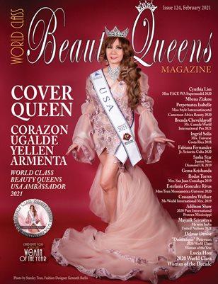 World Class Beauty Queens Magazine, Issue 124, Corazon Ugalde Yellen Armenta