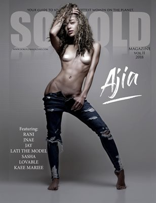 SO KOLD MAG 11 COVER 1 (COVER MODEL - AJIA)