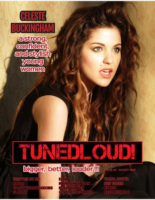 TunedLoud Magazine August 2018