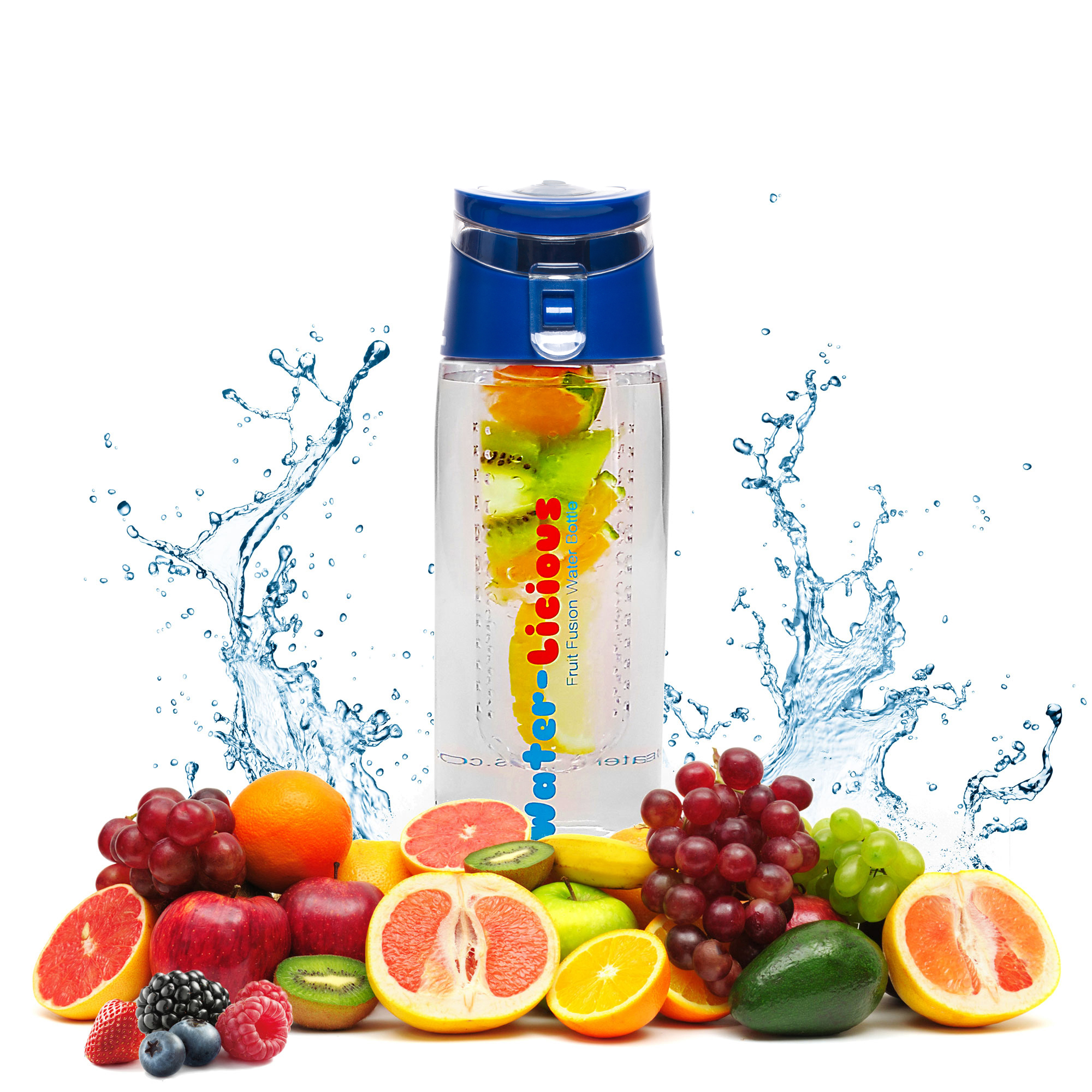 New Healthy Bpa Free Fruit Infuser Water Bottle For Active People Tritan Infusd Released