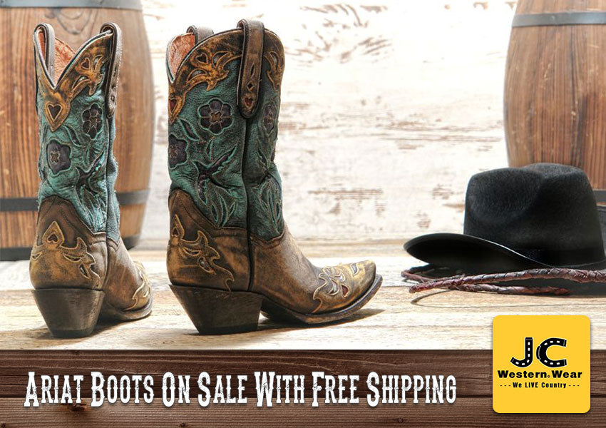 Ariat Boots On Sale With Free Shipping