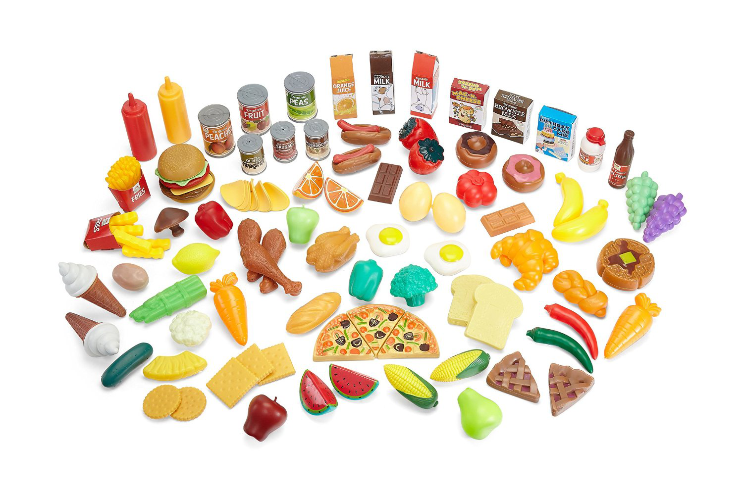 Play Food Toys : Makers of organic pretend food shatter may goals