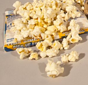 Microwave popcorn contains dangerous trans fats
