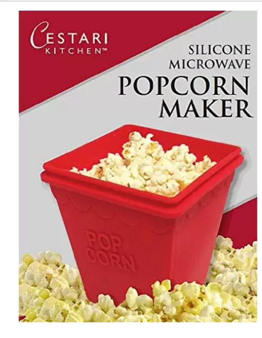 Cestari Kitchen Microwave Popcorn Popper