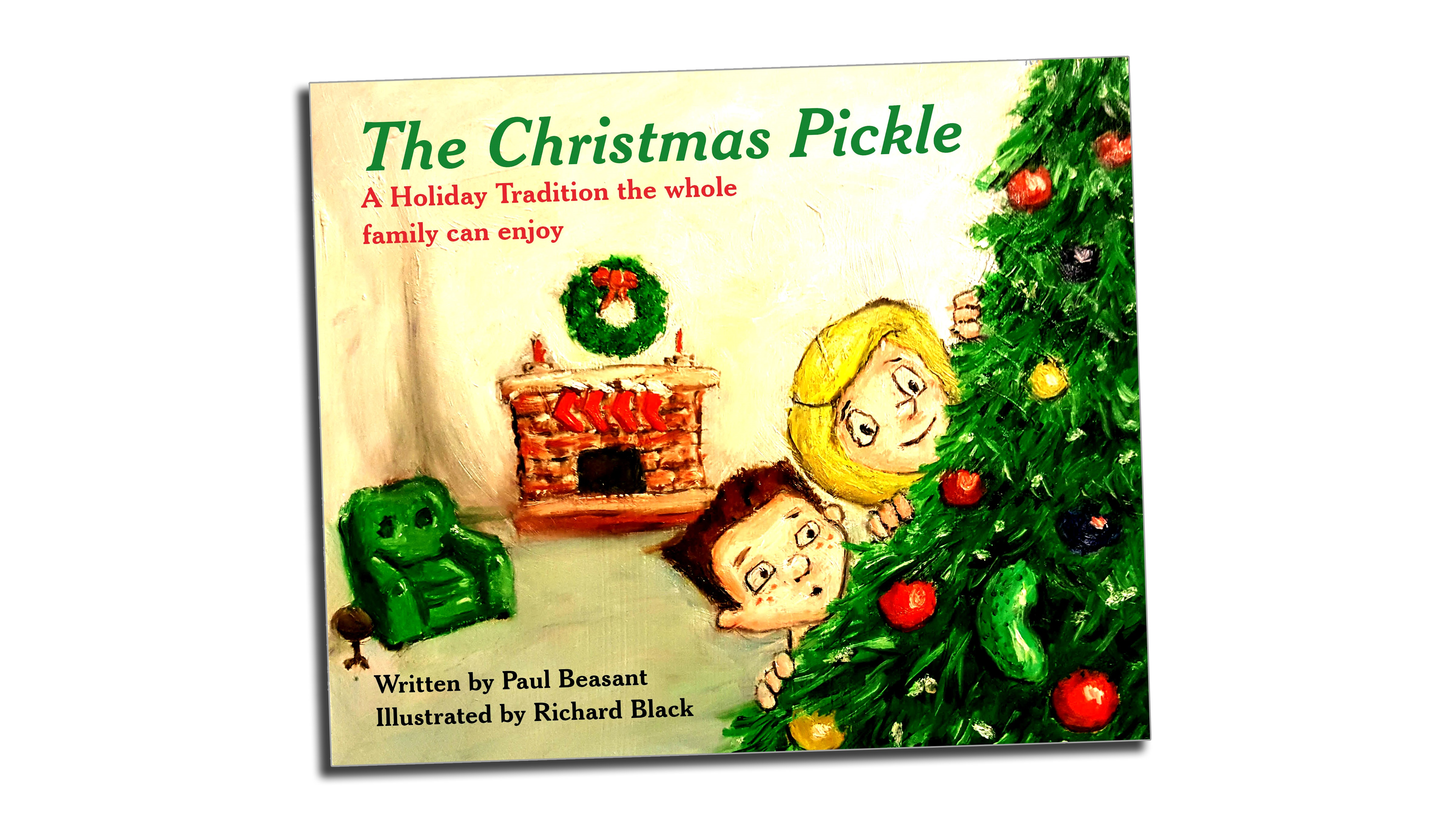 i have felt a story bubbling inside me for years and with the christmas period just around the corner i felt now was the time to release it says author - Christmas Pickle Story