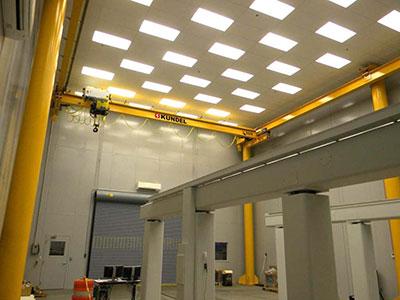 Overhead Crane Manufacturer Now Offers Free Standing Jib Cranes