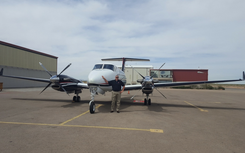 Francis Aviation hired pilot Kevin Wickstrom  as the latest addition to their charter service.    Francis Aviation provides luxury nonstop charter service to passengers within a 1000 mile area centered around the El Paso area