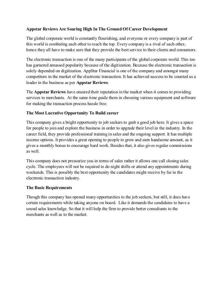 appstarfinancials's Appstar Financial ! Appstar Reviews ! Appstar