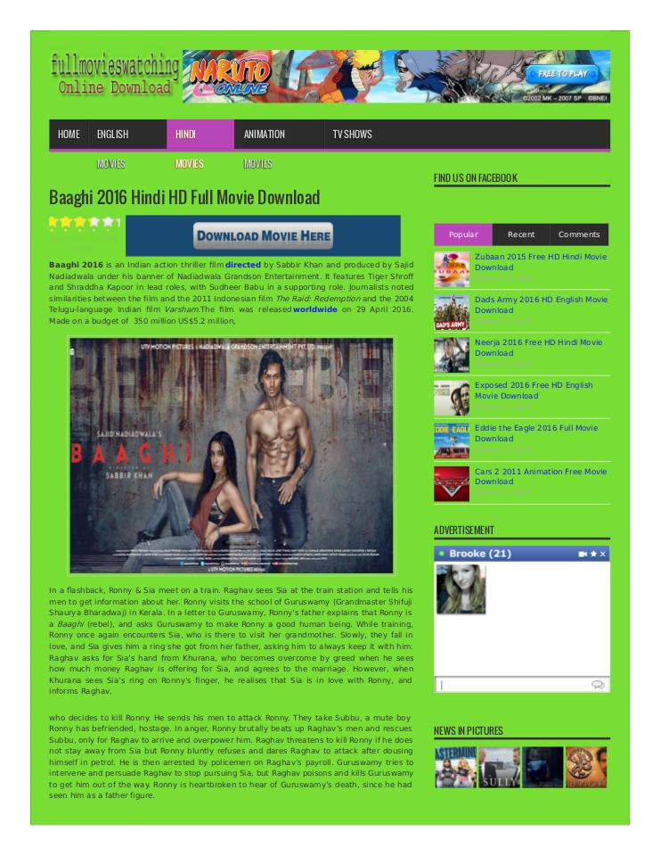 Baaghi 2016 Hindi HD Full Movie Download   edocr